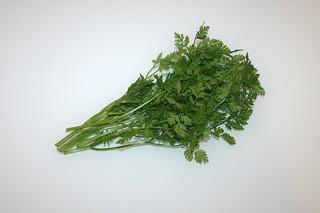 09 - Zutat Kerbel / Ingredient chervil