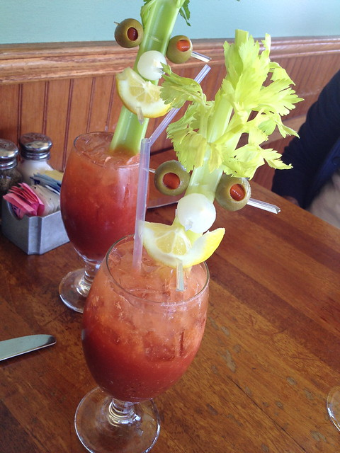 Chalet spicy bloody mary - The Beach Chalet Brewery & Restaurant
