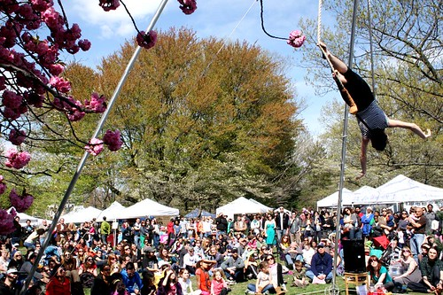 Tangle's tinycircus. Photograph  by Go West! Craft Fest