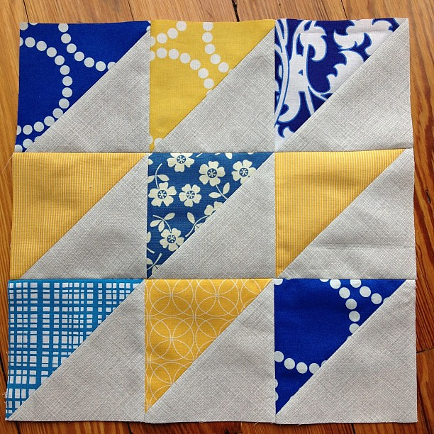 One more. Now to make one with all my scraps...#quiltsforboston