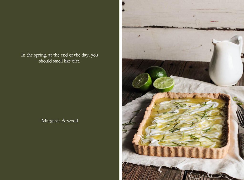Lime Curd Tart with Coconut Whipped Cream