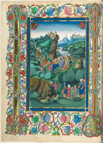 017- El sermon de la montaña-Misal de Salzburgo-1499-Tomo 5-Biblioteca Estatal de Baviera (BSB)