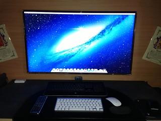 El nuevo mac ya instalado