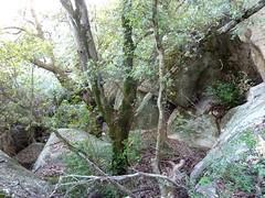 Chaos de Valle di Scopa : les blocs devant l'oriu n°1