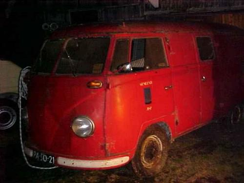 PA-50-21 Volkswagen Transporter bestelwagen 1955