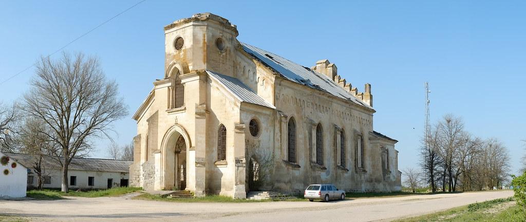 Alexandrovka church. South view.