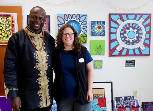 Nigeria's Art Ambassador Ibiyinka Alao