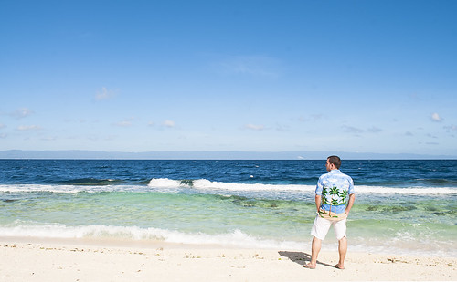 Flapy in Balikasag beach