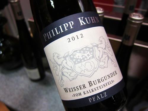 2012 Kalksteinfels Weissburgunder Weingut Philipp Kuhn