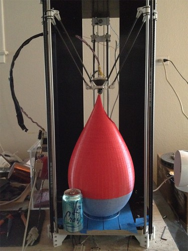 My Rostock, 21 hours and 1.2 kg of plastic later!