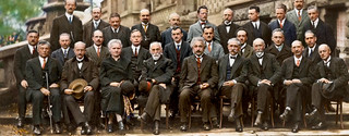 From the October 1927 Fifth Solvay International Conference on Electrons and Photons