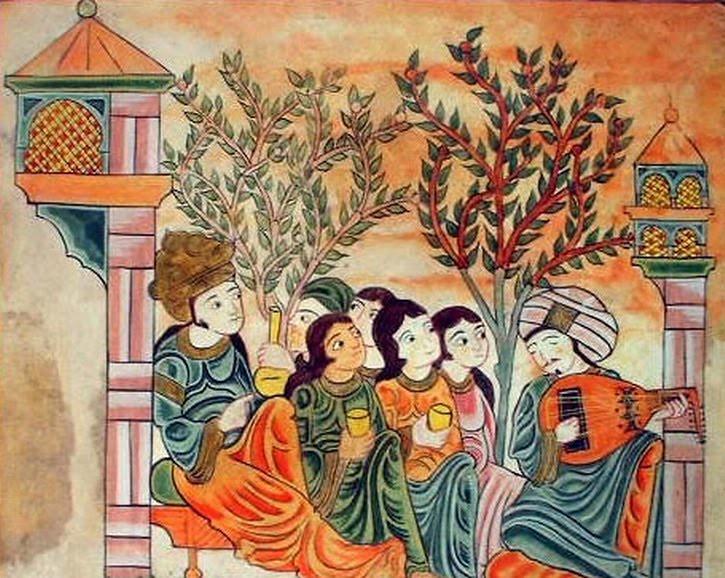Pintura andalusí del siglo XIII