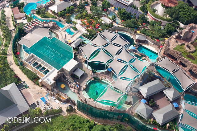 Marine Life Park Singapore - from the air May 2013 - Dolphin Island 3