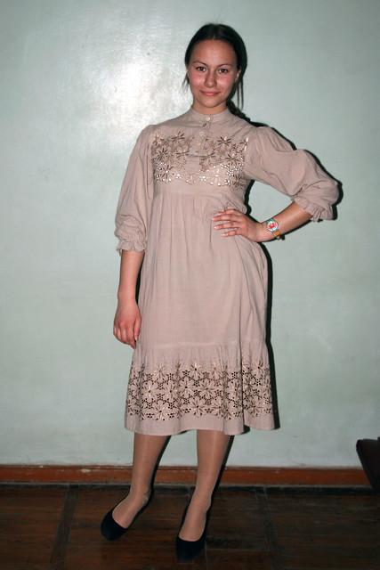 Коллекция современных платьев Татьяны Москвиной