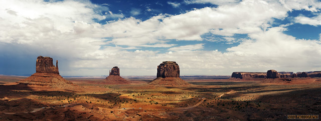 Panorámica Monument Valley. UTAH