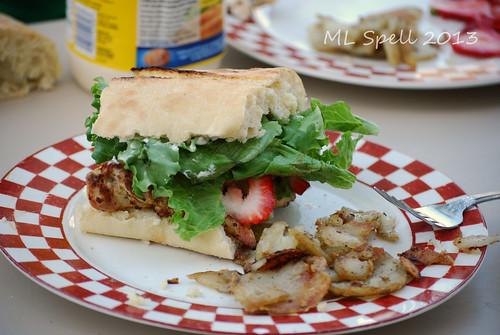 Grilled Orange-Rosemary Chicken Sandwiches (12/52) | Dry Spell