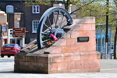 Mine Disaster Memorial, Burslem