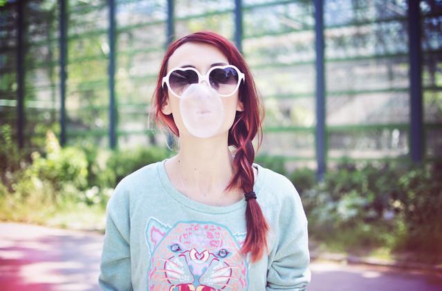 Bubblegum smile