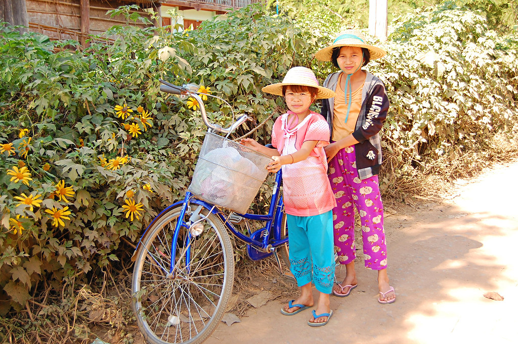 Children, Hsipaw, Burma
