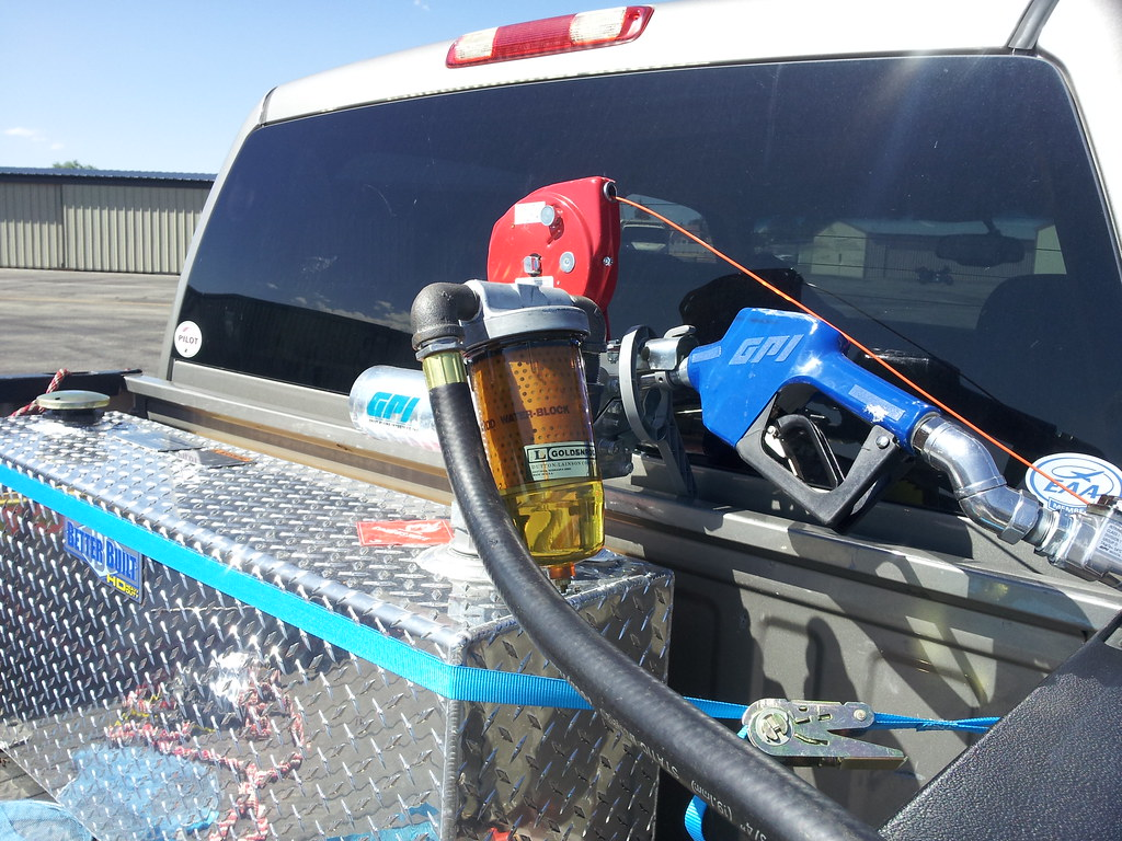 Truck Bed Transfer Tank Backcountry Pilot Jet A Fuel Filter Image