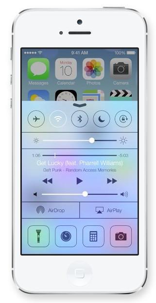 iOS7 Control