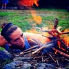 Pioneering 2014 Tryouts at @indian_head_camp. (But with that fire she might as well be trying out for the NYFD). #ihcfilm