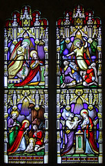 west window by William Warrington, 1863