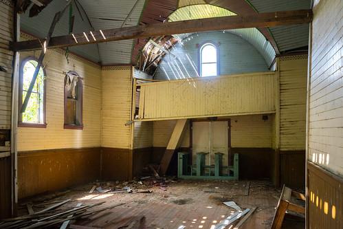 abandoned church interior manitoba pineriver rural canada ca