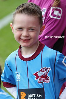 Scunthorpe United mascot v Sheffield United 2016