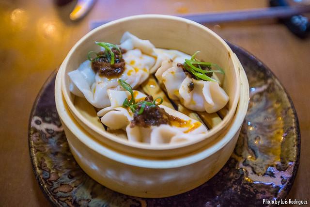 Dumpling de gambón con Pedro Ximénez XO (Asiana Nextdoor)