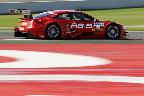 Miguel Molina Test DTM Circuit de Catalunya 2013