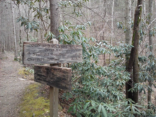old sugarlands trail