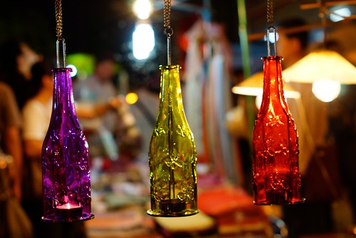 red people yellow thailand lights march candle purple bottles market sony stall tealights nightmarket chiangmai alpha a65 2013 sundaywalkingstreet totallythailand