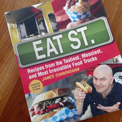Then The Eat Street Cookbook Arrived