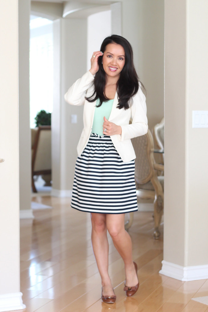 Stylish Petite Fashion Lifestyle Travel And Home Decor Site Review J Crew Striped City
