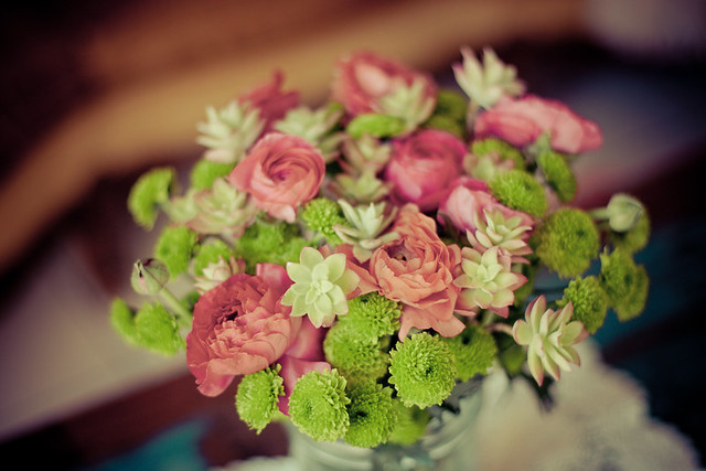 DIY bouquet de succulentes