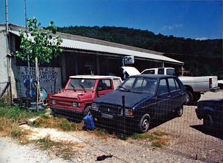Garage in Corfu