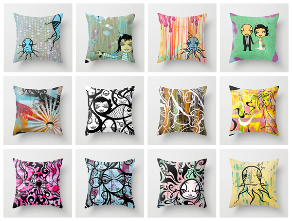 Claassen Pillows Now Available At Society 6