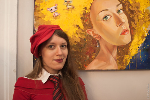 Emerging Artists - Yulia Katkova & my work