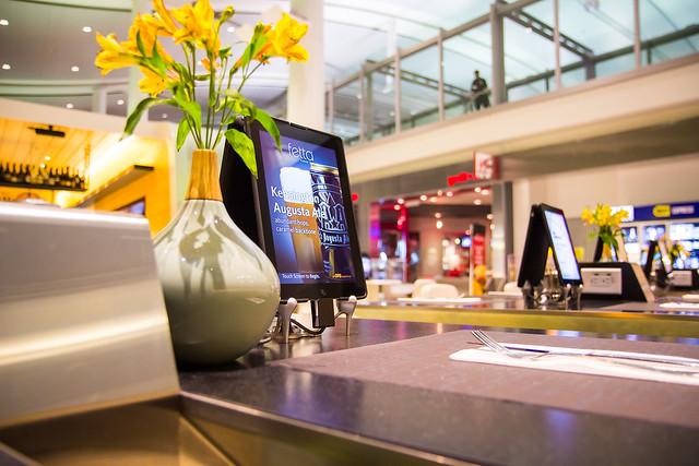 Бар Фета Панини в аэропорту Пиарсон(Торонто)