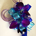 Prom Blue Orchid Wristlet - Shirley's Flowers & Gifts, Inc., in Rogers, Ark.