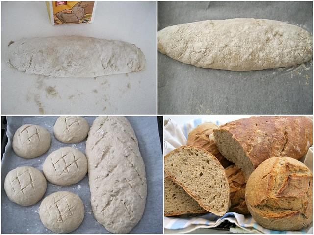 çavdarlı ayçekirdekli ekmek yapılışı