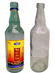 Mẫu chai chuyên để đựng nước mắm chai thủy tinh 500 ml