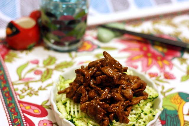 京醬肉絲 Sautéed Shredded Pork in Sweet Bean Sauce 1