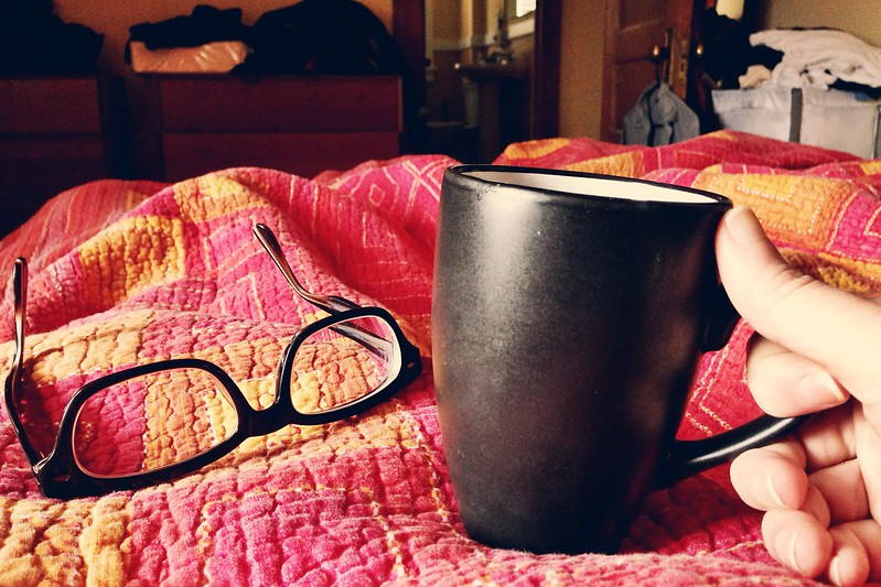 coffee in bed, courtesy of @palinode