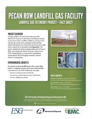 Pecan Row Landfill Gas Facility