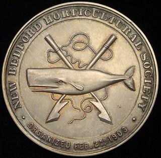New_Bedford_Horticultural_Society_medal_obv
