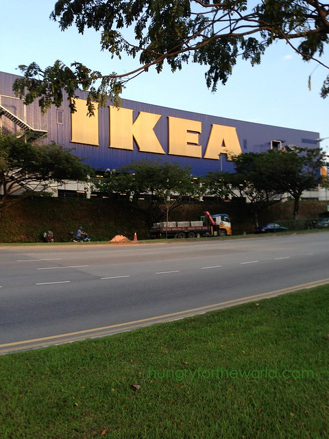 huge ikea building