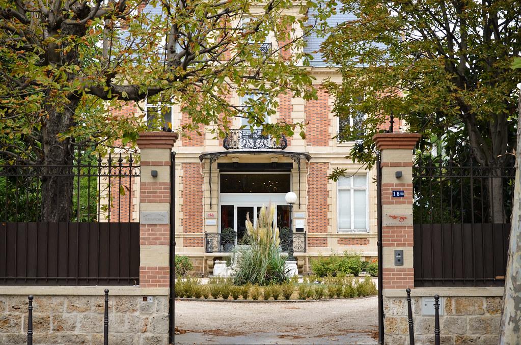 Hôtel particulier bd Exelmans