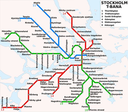 A public transit system or worlds longest art exhibit video map of the stockholm metro by stonyyy creative commons gumiabroncs Images